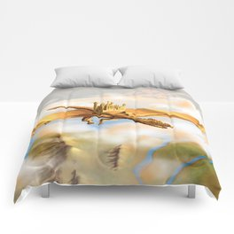 The City Of The Dragon Comforters