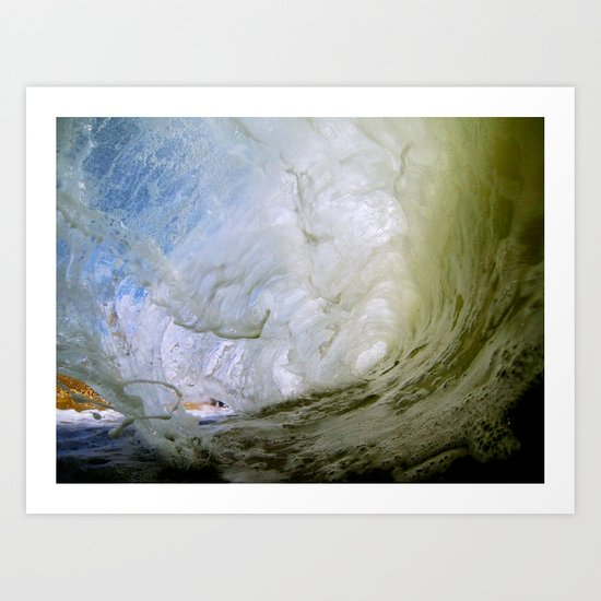 Sand Barrel ~ The Wedge, Newport Beach CA Art Print