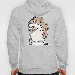 Funny Dabbing Hedgehog Pet Dab Dance Hoody