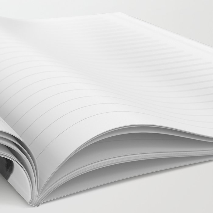 Black and white giraffe Notebook