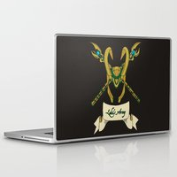 army Laptop & iPad Skins featuring Loki's Army by sophiedoodle