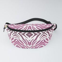 Pink Zebra Pattern Fanny Pack