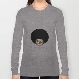 """I am no longer accepting the ... (Angela Y. Davis) Long Sleeve T-shirt"