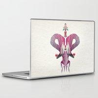 flamingo Laptop & iPad Skins featuring flamingo by Manoou