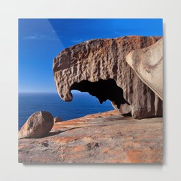 Remarkable Rocks, Kangaroo Island,South Australia Metal Print