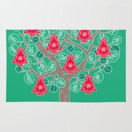 The Christmas Tree Rug