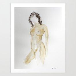 Faceless #1 Art Print