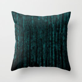 Matrix (6) Throw Pillow