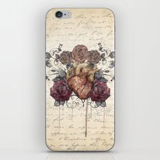 Flowers from my heart iPhone & iPod Skin
