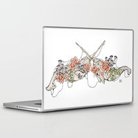 narwhal Laptop & iPad Skins featuring Narwhal  by Erin Inglis