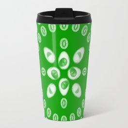 Kiwi & Avocado [Green] • Mandala Travel Mug