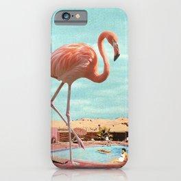 Holiday Flamingo iPhone Case