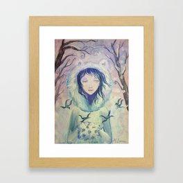 Winter For A Year Framed Art Print