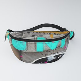 S T A Y   H O M E  Fanny Pack