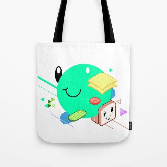 Tasty Visuals - Sandwich Time (No Grid) Tote Bag