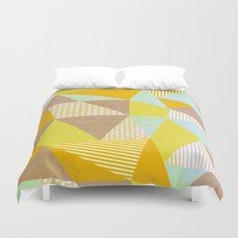 Geometric Warm Duvet Cover