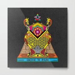 Knowledge Keepers - Psychedelic Metal Print