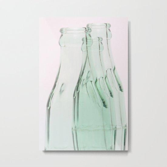 Bottle Metal Print