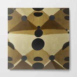 """African retro pattern (Ethnic)II"" Metal Print"