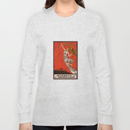 May Day Russian Revolution Poster Long Sleeve T-shirt