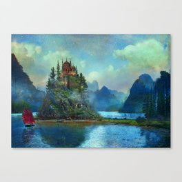 Journey's End Canvas Print