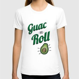 Green Guac and Roll Cinco de Mayo T-shirt