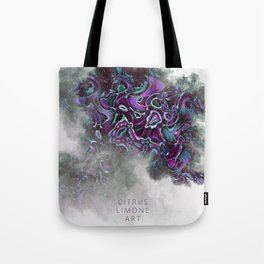 Digital Smoke (Citrus Limone Art) Tote Bag