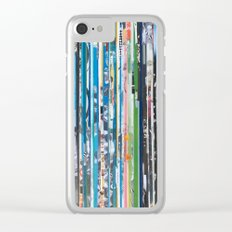 STRIPES 28 Clear iPhone Case