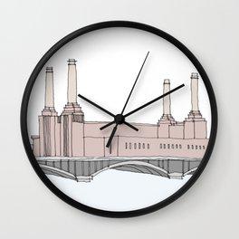 Battersea Power Station London Wall Clock