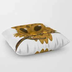 Who Now Brown Owl? Floor Pillow