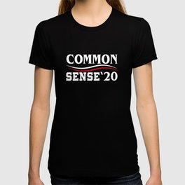 Common Sense 2020 Election Against Trump T-shirt