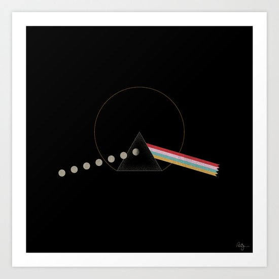 Dark Side of the Game Art Print