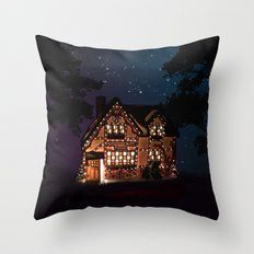 C1.3D PAPERSHOPPE BY NIGHT Throw Pillow