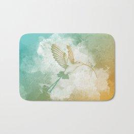 Colorful little bird Bath Mat
