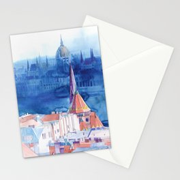 Morning in Budapest Stationery Cards