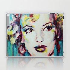 Merylin Monroe cinema and pop culture icon - portrait Laptop & iPad Skin