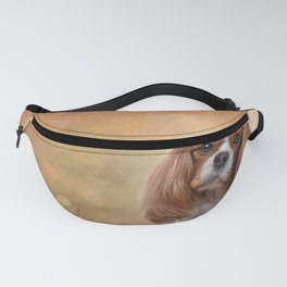 Drawing Dog breed Cavalier King Charles Spaniel Fanny Pack