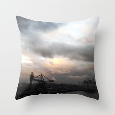 industrial V. Throw Pillow