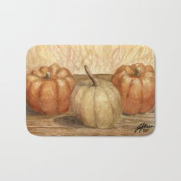 Mini Pumpkins I Bath Mat