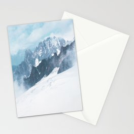 Aosta Valley 11, Mont Blanc, Courmayeur Stationery Cards