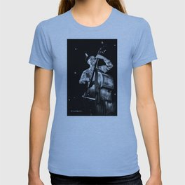 The old contrabass player T-shirt