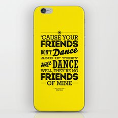 One Hit Wonder- Safety Dance in Yellow iPhone & iPod Skin