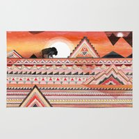 journey Area & Throw Rugs featuring Journey by Sandra Dieckmann