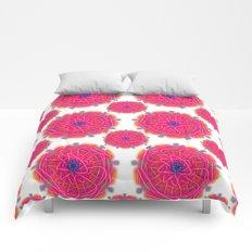 Pink Mandalas Comforters