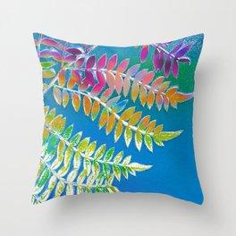 Azure Daydream Throw Pillow