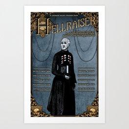Hellraiser Play Poster Circa 1890 Art Print