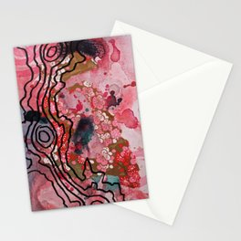 Wilder Borders: Loose Associations Stationery Cards