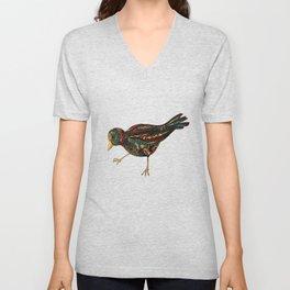 Mechanical Bird Unisex V-Neck