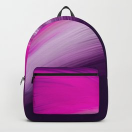 Pink and Purple Abstract Backpack