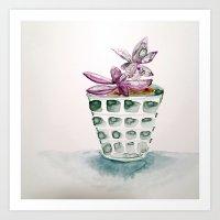 still life - plant Art Print